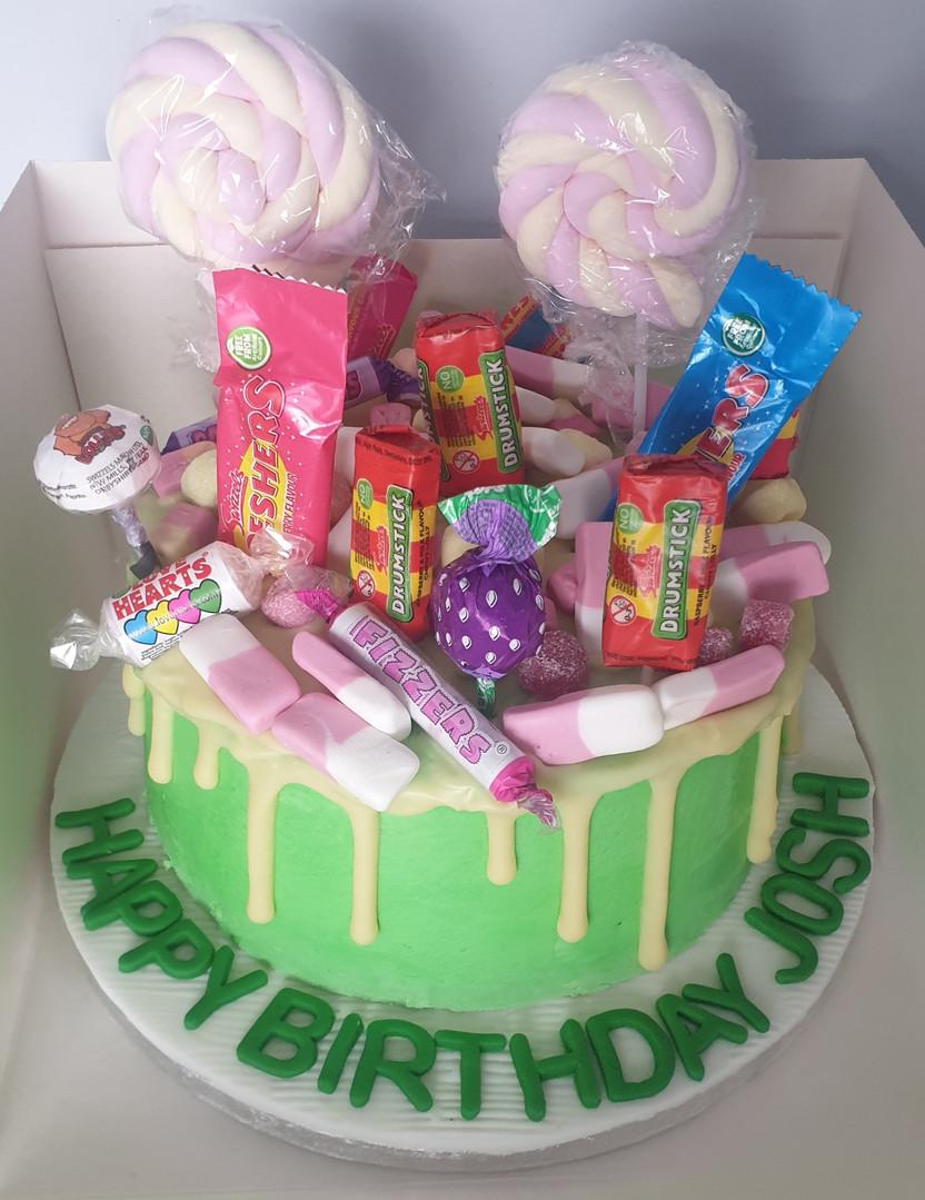 Tuck shop drip cake