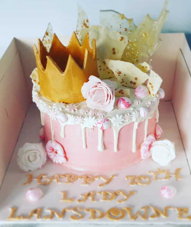Lady of the house cake