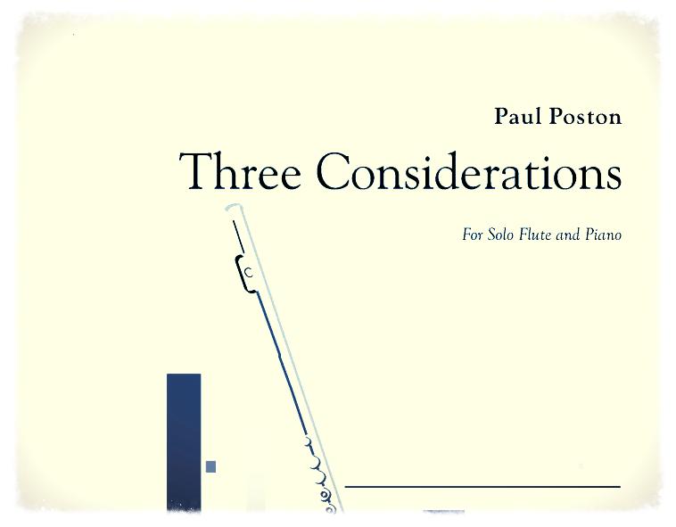 Three Considerations