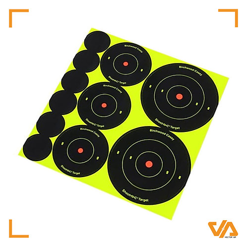Shoot-N-C Targets Mixed Size