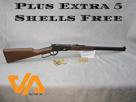 Umarex Legends Cowboy Rifle + 5 extra shells