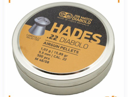 JSB Hades .22 and .25 back in stock....