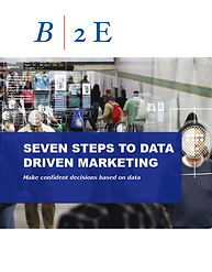 B2E 7 Steps to Data Driven Marketing Whi