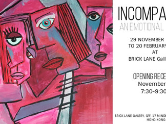 Incompatible Exhibition at BRICK LANE Gallery HK
