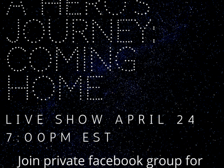 My show is going LIVE!!! Join me @ Dragonfly Cove group on facebook