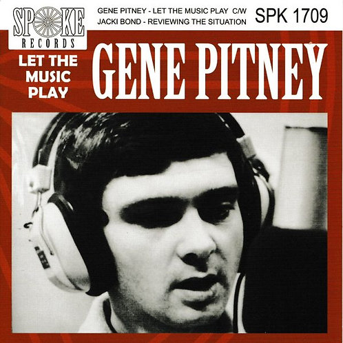 """GENE PITNEY Let The Music Play On 7"""""""