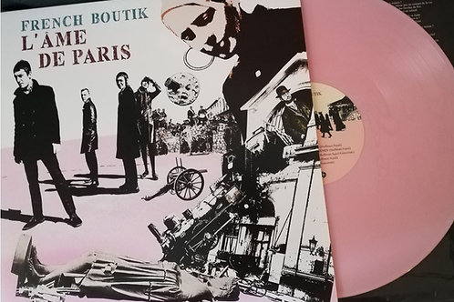 FRENCH BOUTIK L'Ame De Paris LP PINK VINYL