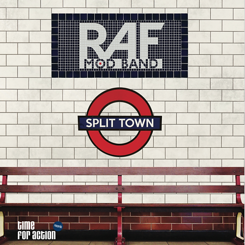 RAF MOD BAND Split Town LP