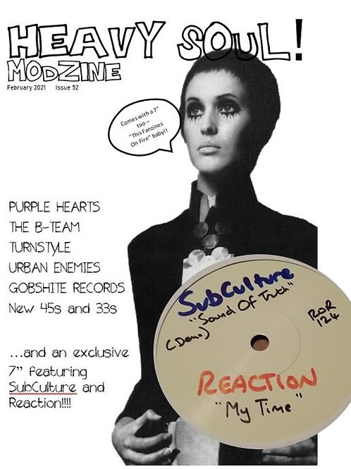 HEAVY SOUL MODZINE Issue 52 with single