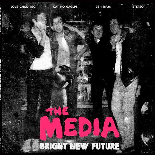 THE MEDIA Bright New Future LP YELLOW VINYL