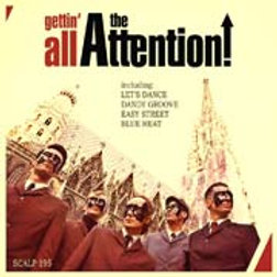 THE ATTENTION Gettin all... LP