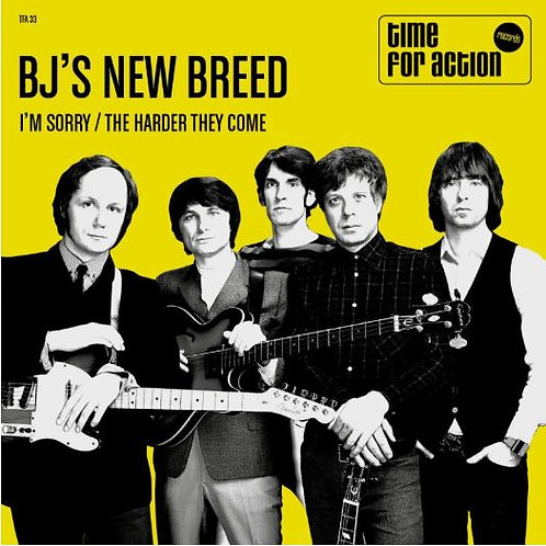 BJ's NEW BREED I'm Sorry BLACK VINYL