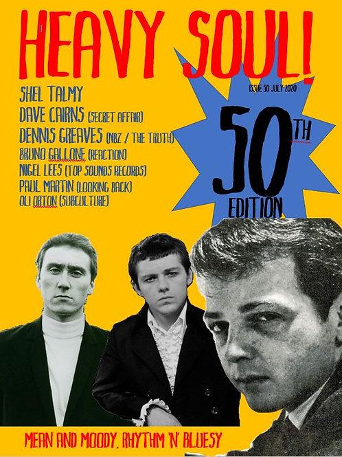 HEAVY SOUL MODZINE Issue 50 with CD