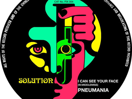 """PNEUMANIA """"I Can See Your Face"""" single"""