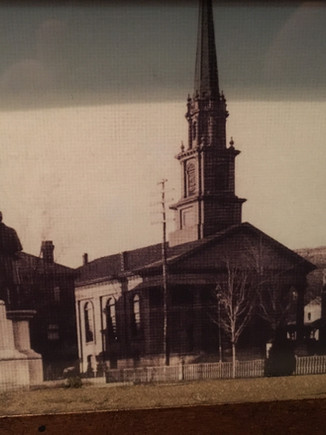 Trinitarian Church from Right View