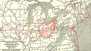 Fitchburg on National Map of the Underground Railroad