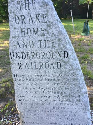 Drake House Marker