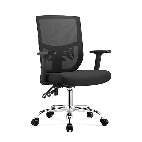 Cradle Flexi Adjustable Black Ergonomic Chair