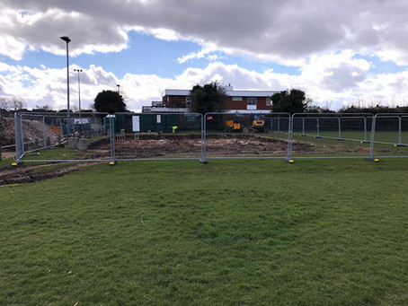 New Facility Works Begin!!