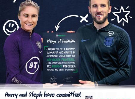 FA Respect Pledge of Positivity