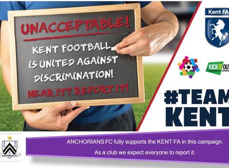 Anchorians FC unites against discrimination in football.