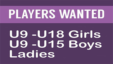 Want to play! We have plenty of opportunities.