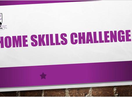 Home Skills Challenge Week 12