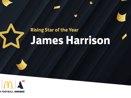 Harrison is a Rising Star