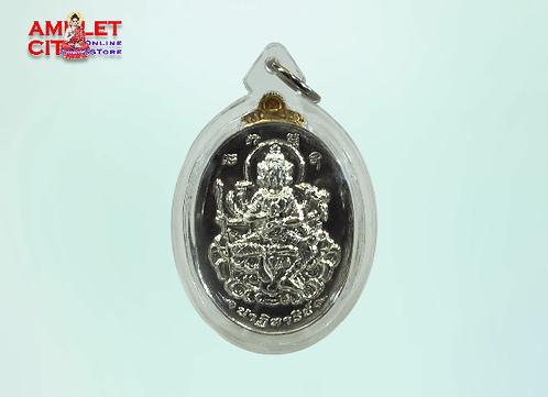Phra Phrom (Silver) @ Wat Khuhasawan