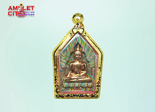 Phra Khun Paen with Brass Mask @ LP Van Gai