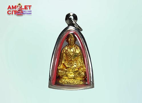 Kruba Sivichai in Gold @ Wat Don Suthep