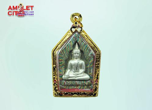 Phra Khun Paen with Silver Mask @ LP Van Gai