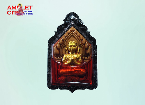 Phra Khun Paen Soaked Red Magic Oil @ LP Ruam