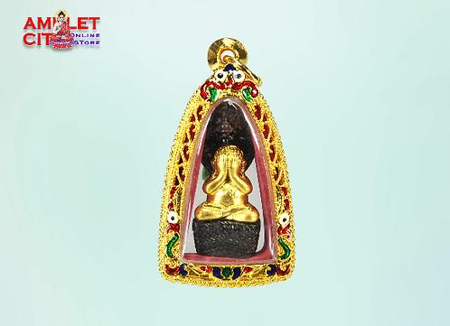 "Phra Pidta Nakkarah ""Gold/Black"" @ LP Kambu"