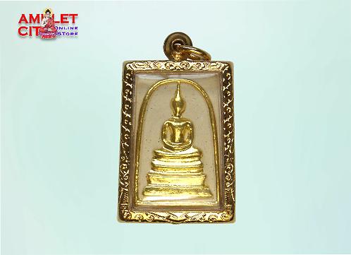 Phra Somdej Gold Masked @ Wat Intharaviharn
