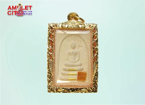 Phra Somdej 3 Scroll Gold Takruts @ LP Koon