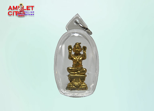Miniature Figurine Brass Kuman Thong @ LP Yeam