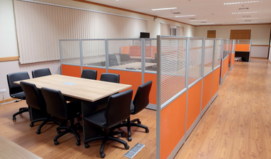 Open Plan Partition