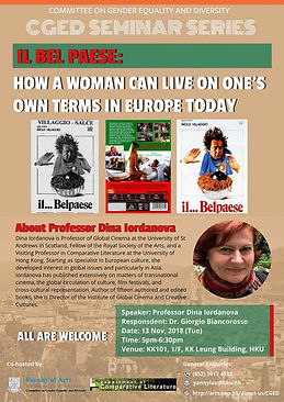 IL BEL PAESE: How a Woman Can Live on One's Own Terms in Europe Today?