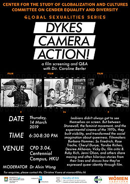 Dykes, Camera, Action! Film Screening and Q&A with Director Caroline Berler