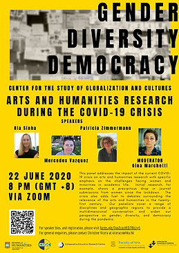 Arts and Humanities Research During the COVID-19 Crisis