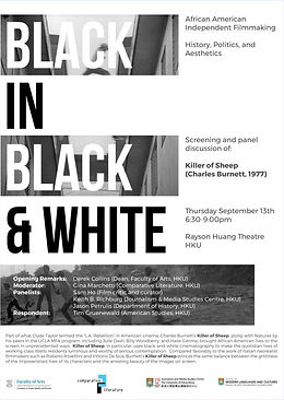 Black in Black and White: African American Independent Filmmaking – History, Politics, and Aesthetics