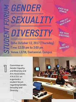 Student Forum: Gender, Sexuality, Diversity