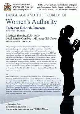 Language and the Problem of Women's Authority