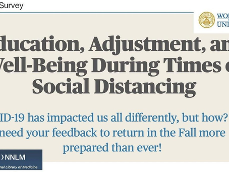 Impact of COVID-19 and Social Distancing on Education and Well-Being