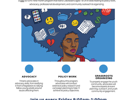 Leadership Opportunity- Young Advocates Program