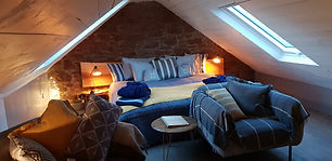Holiday accommodation in Perthshire, Scotland The Attic, The Orchard & The Cottage. 2 person apartments.