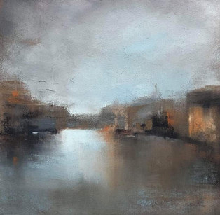 """""""Inspired by Venice"""" Pastel 11"""" x 11"""" £80"""
