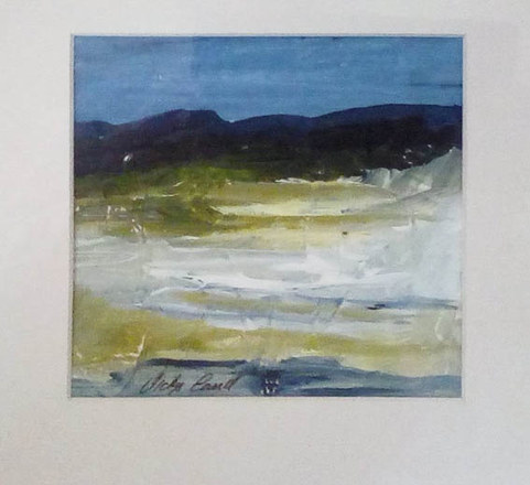 """The Cove""  Mixed Media  £30"