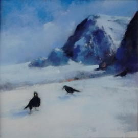 """Winter by Liz Craig. Winner of the November 2019 """"River Deep, Mountain High"""" competition"""
